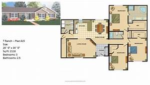 Modular, Home, Ranch, Plans