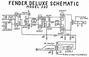 Fender Deluxe Tube Amp Schematic