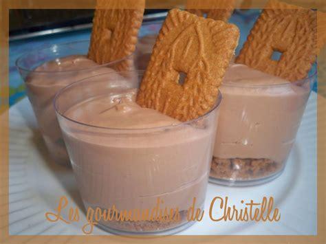 mousse de mascarpone au nutella et sp 233 culoos les gourmandises de christelle