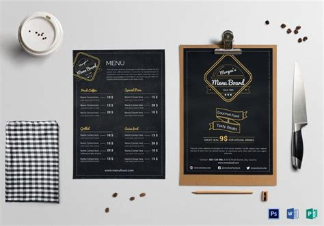 creative restaurant menu designs  premium