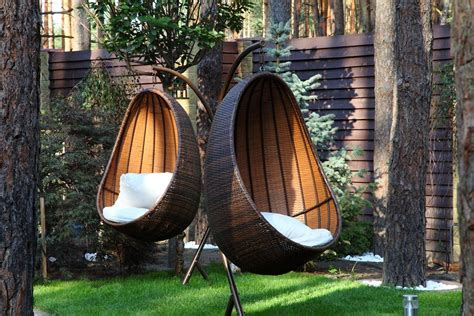 hanging porch chair hanging egg chair outdoor ideas