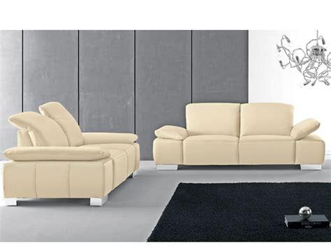 Candy Sofagarnitur Long Island 2-teilig Sofa 2 Sitzer + 3