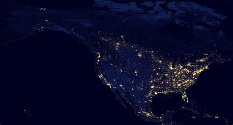 night satellite  earth  europe asia world