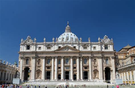 Kostenloses Foto Petersdom In Rom