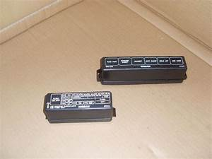 Nissan Micra K11 Models From 1993 To 1998 Engine Bay Fuse