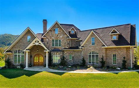 home designs floor plans 4 bedroom home plan with bonus expansion 25606ge
