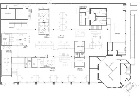 architect plans skylab architecture office floor plan office