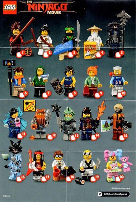 mundo manias lego  ninjago bolsita sobre sorpresa