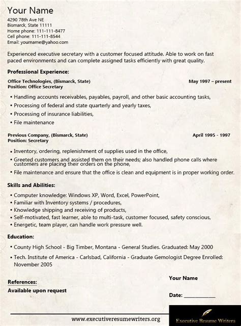Executive Resume Writers by 18 Best Executive Resume Writers Images On
