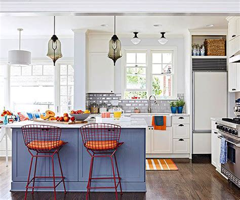 bright kitchen ideas 20 colorful kitchen ideas in small spaces house design