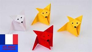 Origami Animaux Facile Gratuit : renard en pliage origami fox super simple super ~ Dode.kayakingforconservation.com Idées de Décoration