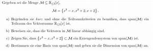 Schräger Wurf Anfangsgeschwindigkeit Berechnen : erzeugendensystem von span m m x 3 x x 3 2 x 2 mathelounge ~ Themetempest.com Abrechnung