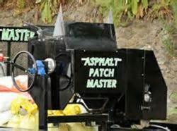 Asphalt Patch Master Demonstration Set