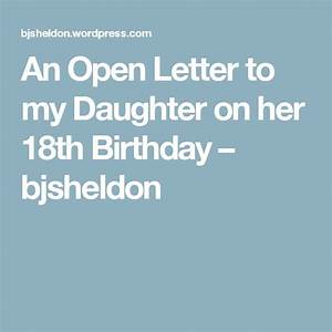 Top 25 best daughter birthday ideas on pinterest for Letters to my daughter prompts