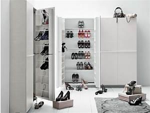 Schuhschrank Für Viele Schuhe : 10 schuhschrank ideen mit kreativem und platzsparendem design ~ Pilothousefishingboats.com Haus und Dekorationen