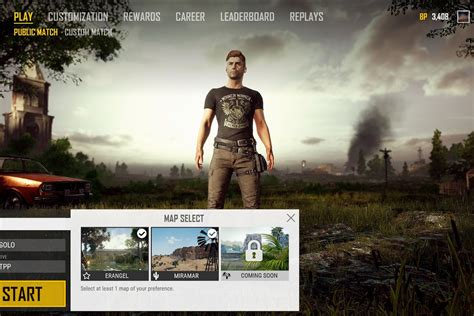 pubg map selection  coming  polygon