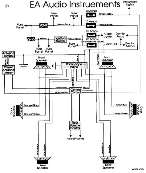 ba falcon stereo wiring diagram somurich