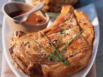 cuisiner cote de veau côtes de veau à la dijonnaise facile recette sur