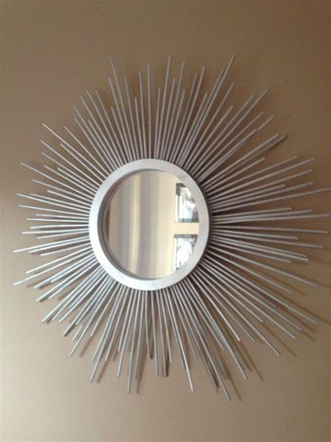 stunning diy sunburst mirror