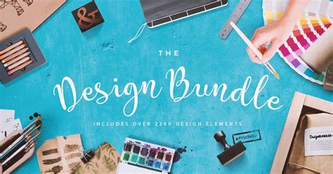 The Biggest Design Bundle With 2200 Design Elements - As Low As $32 - Hafiz Lubis