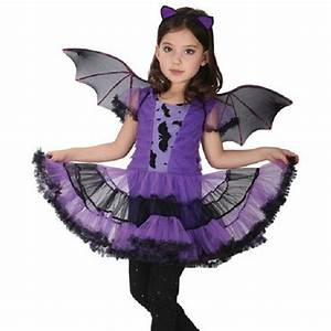 For Kids Children Purple Halloween Dresses Fancy ...