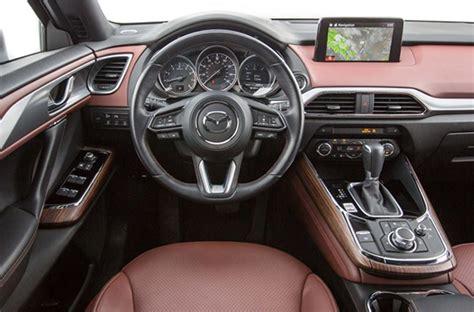mazda cx  signature awd interior colors redesign