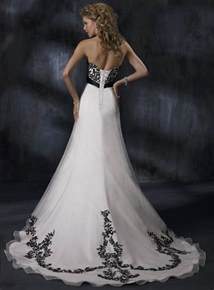 black gowns for wedding black and white wedding dress decoration designs wedding dress