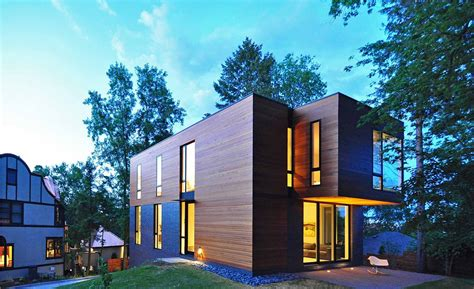 modern architecture usa compact contemporary family home in madison wisconsin