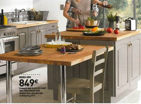 cuisine bruges gris conforama modele bruges conforama photo de cuisine équipée en