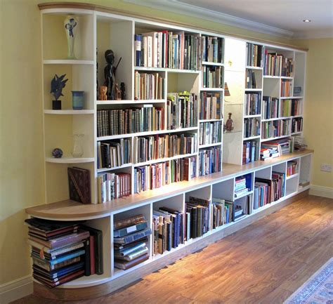 Bookcases And Shelving 15 ideas of fitted bookcases