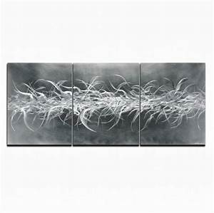Modern metal wall art contemporary large sculpture