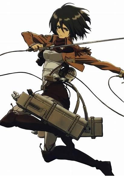 Mikasa Ackerman Titan Attack Eren Levi Shingeki