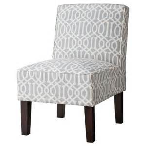 threshold slipper chair gray lattice target