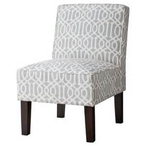 threshold slipper chair gray lattice target