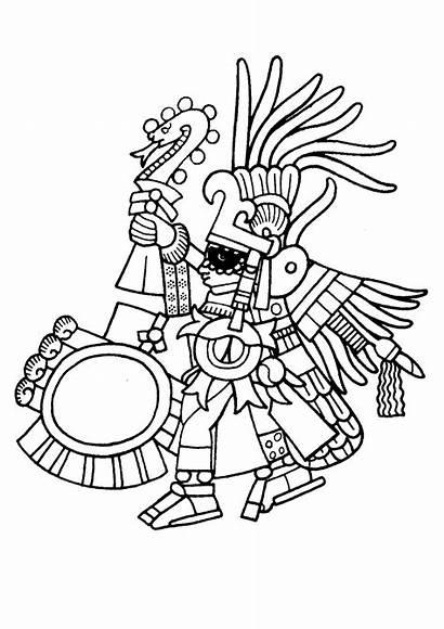 Colorear Mayas Aztecas Maya Incas Disegni Inkas