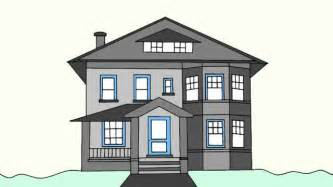 Beautiful Simple House Sketch by How To Draw A House Step By Step For Beginners