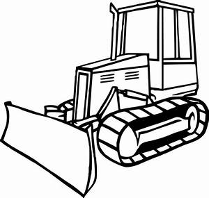 Bulldozer / Mecanic Shovel #2 (Transportation) – Printable ...