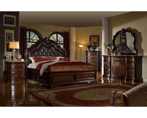 modern platform bedroom sets traditional bedroom set w sleigh bed mcfb6002set