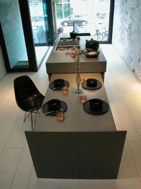 Keuken Met Kookeiland En Tafel by 25 Beste Idee 235 N Kookeiland Tafel Op