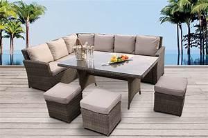 Dining Lounge Rattan : gartenm bel rattanm bel rattan lounge online kaufen ~ Whattoseeinmadrid.com Haus und Dekorationen