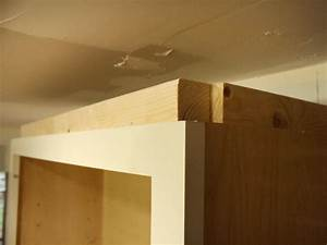 How to Install Cabinet Crown Molding how-tos DIY