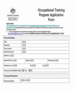 43 sample application form templates in doc With training course application form template