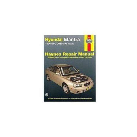 car repair manuals online pdf 2009 hyundai tiburon free book repair manuals hyundai elantra repair manual ebay