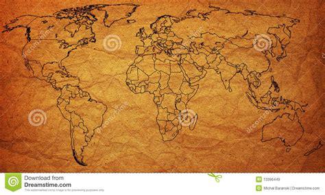 political map  world stock illustration image