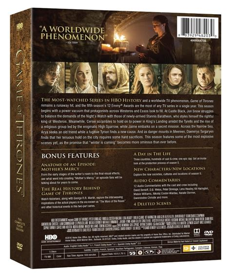 game  thrones  complete  season   dvd