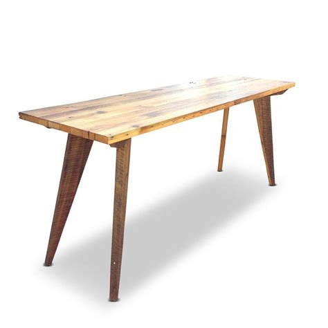kitchen table as island modern mid century kitchen island high bench table or desk 6212