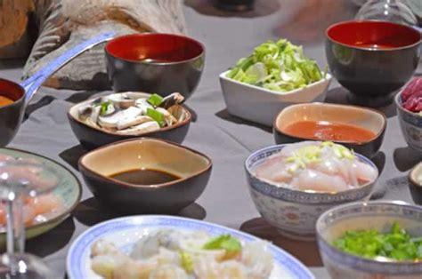 fondue chinoise recette bouillon sauce comment faire