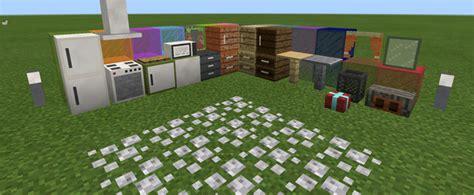 pocketdecoration mod  mcpe minecraft mod