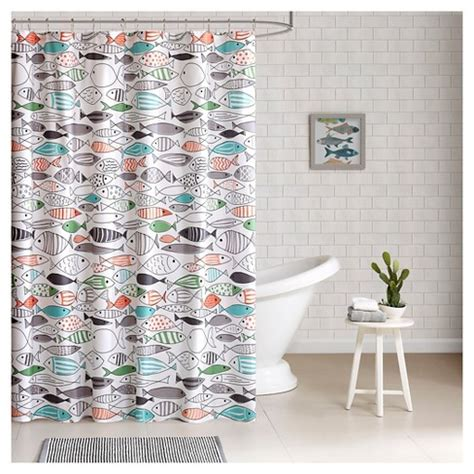 shower curtain target fish shower curtain 72 quot x72 quot green white target Fish