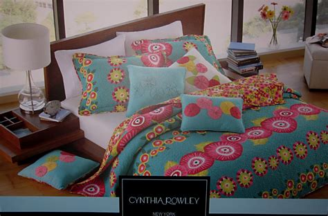 cynthia rowley bedding collection quilt sets for adults